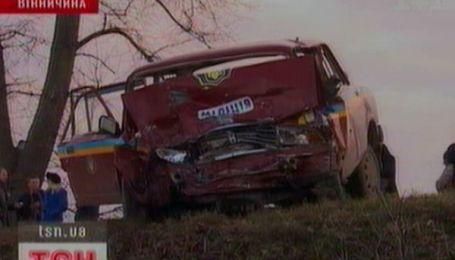 Три человека погибли в ДТП на Виннитчине