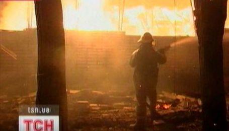 В Одессе дотла сгорело военное общежитие