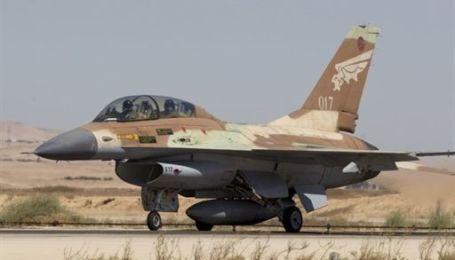 Разбился новейший истребитель ВВС Израиля