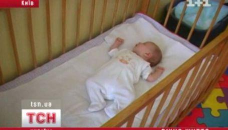 В Киеве открыт пункт приема малышей