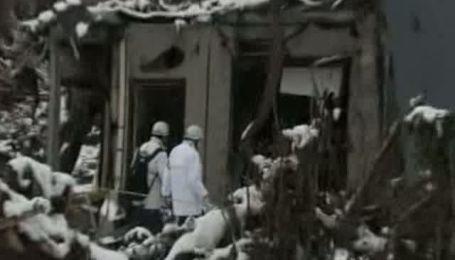 Последствия разрушительного землетрясения в Японии