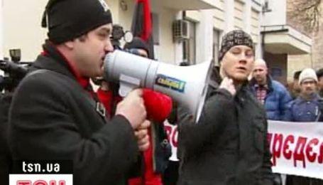 """Националисты требуют выгнать """"сталинистов из МВД"""""""
