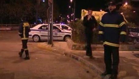 В центре греческой столицы снова прогремел взрыв