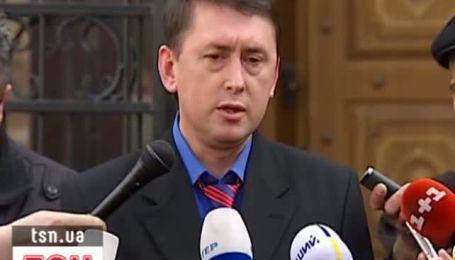 Кучма сбежал с очной ставки с Мельниченко