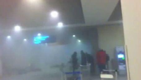 """Видео очевидца теракта в """"Домодедово"""""""
