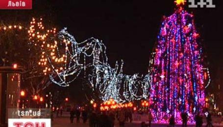 Рейтинг украинских новогодних столиц