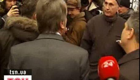 Ссора между Ющенко и сторонником Тимошенко