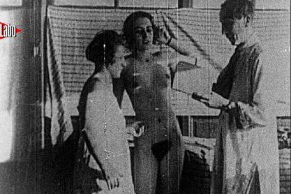 Первые кадры порнографии 19 го века
