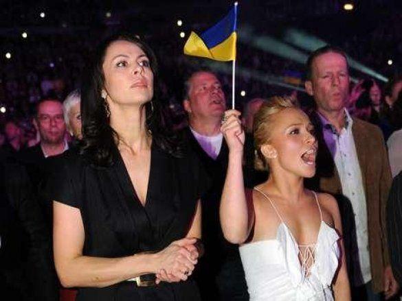 Наталя Кличко і Хайден