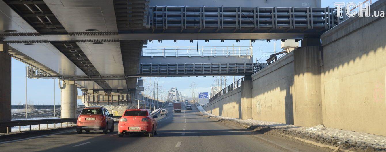 Дарницкий мост достроят не скоро