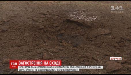 Российские боевики провоцируют украинских военных обстрелами из стрелкового оружия