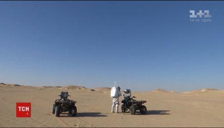 В оманській пустелі створили марсіанські умови для тренувань астронавтів