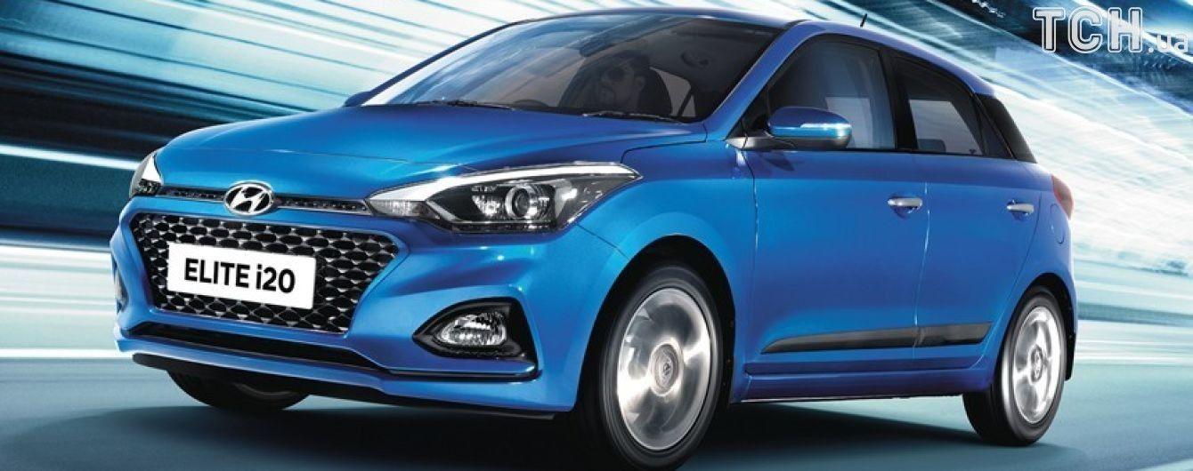 Hyundai добавил в i20 умных технологий