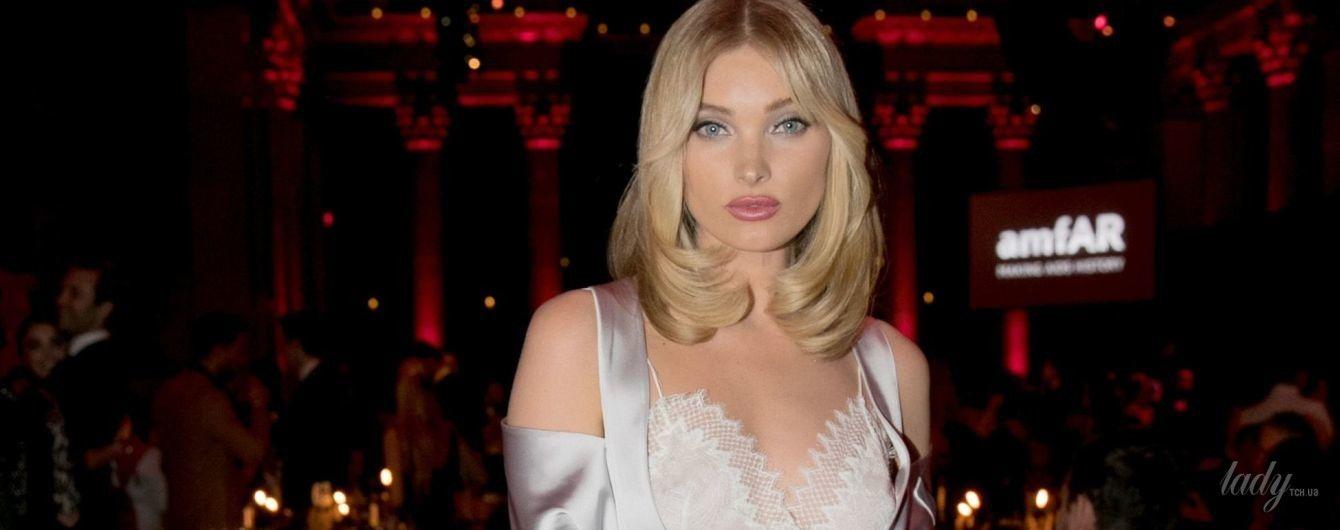 В бельевом стиле: Эльза Хоск появилась на публике в сексуальном образе
