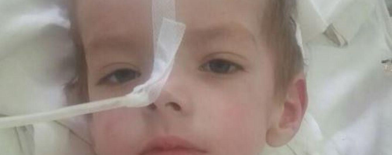 2-летний Саша нуждается в неотложной помощи