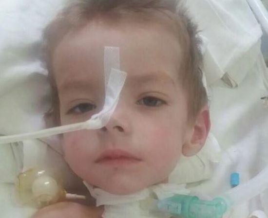 2-річний Сашко потребує невідкладної допомоги