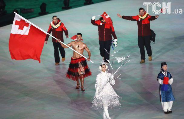 Голый красавец, парни в шортах и роскошное шоу. Как в Пхенчхане открыли зимние Олимпийские игры