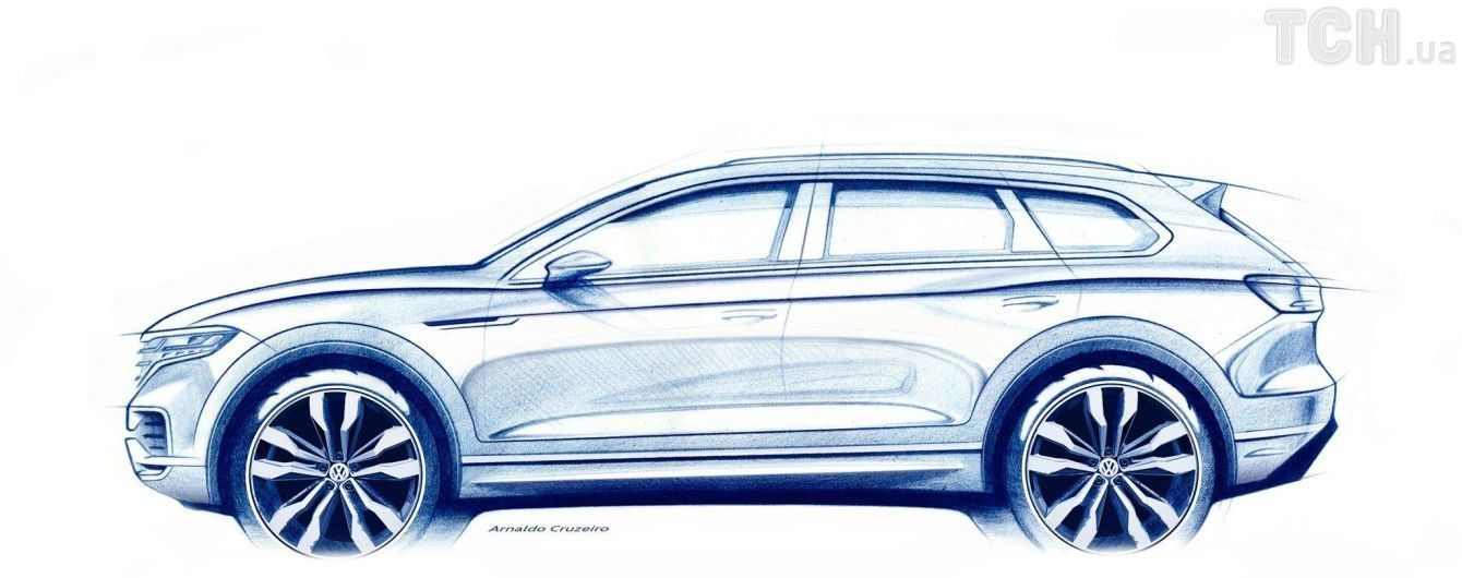 Volkswagen скоро покажет миру новый Touareg