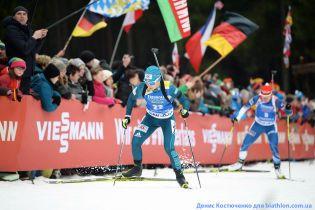 Украинские биатлонистки неудачно выступили в спринте на этапе Кубка мира в Антхольце