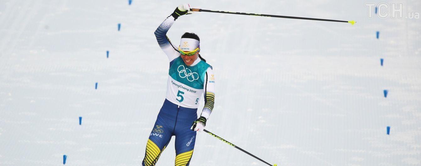 """Первое """"золото"""" Олимпиады-2018 взяла Швеция в лыжных гонках"""
