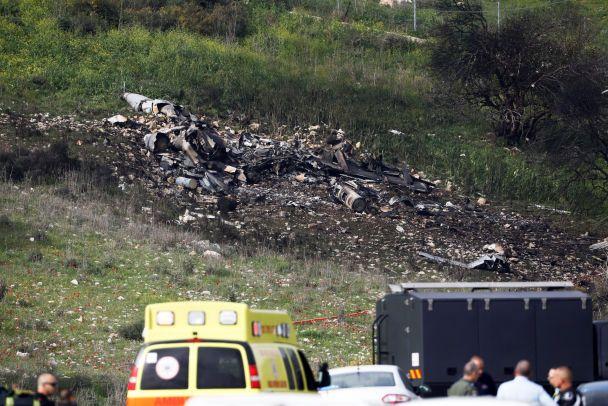 Сирийские ПВО сбили израильский истребитель F-16