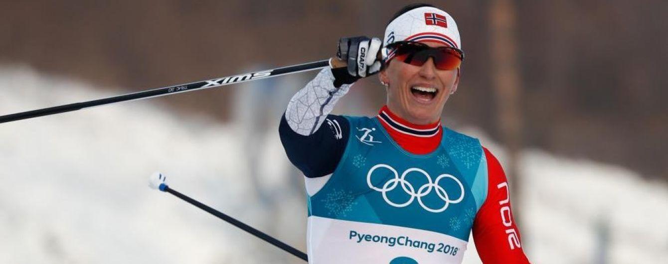 Норвезька спортсменка встановила фантастичний рекорд на Олімпіаді-2018