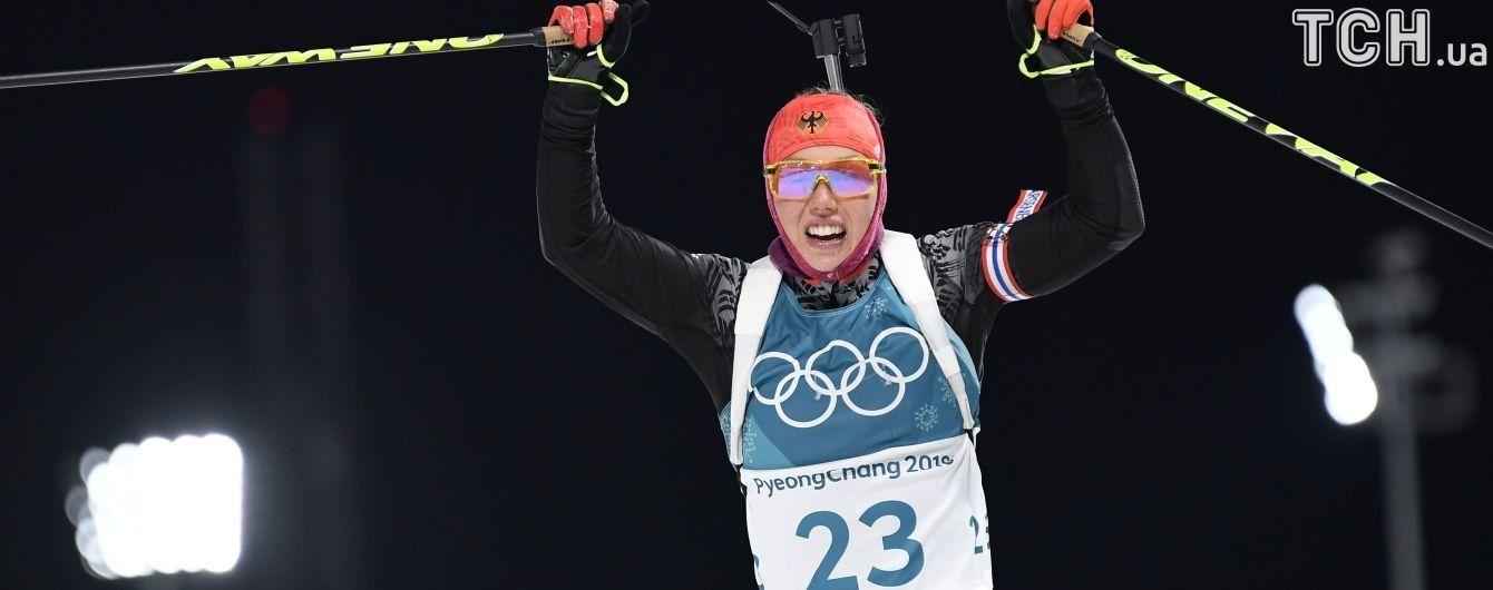 Дальмайєр стала олімпійською чемпіонкою у спринті, Віта Семеренко – 14-а
