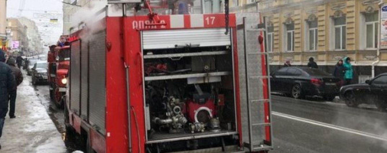 В столичном бизнес-центре горели офисы на 23 этаже