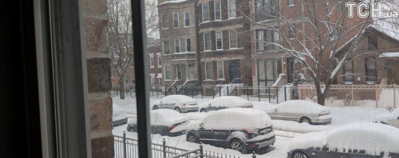 Снегопад отправил на каникулы почти полмиллиона школьников в США
