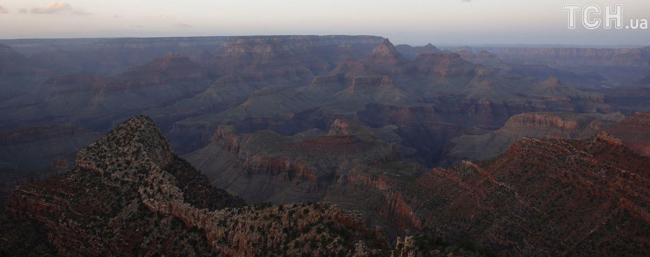 У США у Великому каньйоні розбився туристичний вертоліт, є жертви