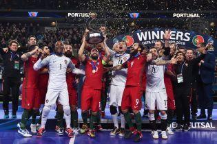 Травма лучшего игрока мира не помешала сборной Португалии стать чемпионом Европы по футзалу