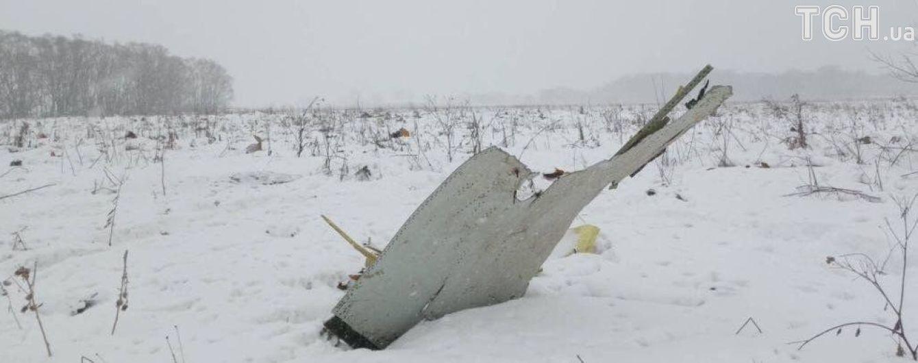 На місці падіння Ан-148 під Москвою знайшли тіла двох загиблих