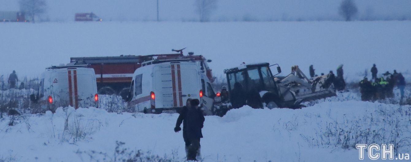 В авіакатастрофі АН-148 в Підмосков'ї ніхто не вижив - офіційно