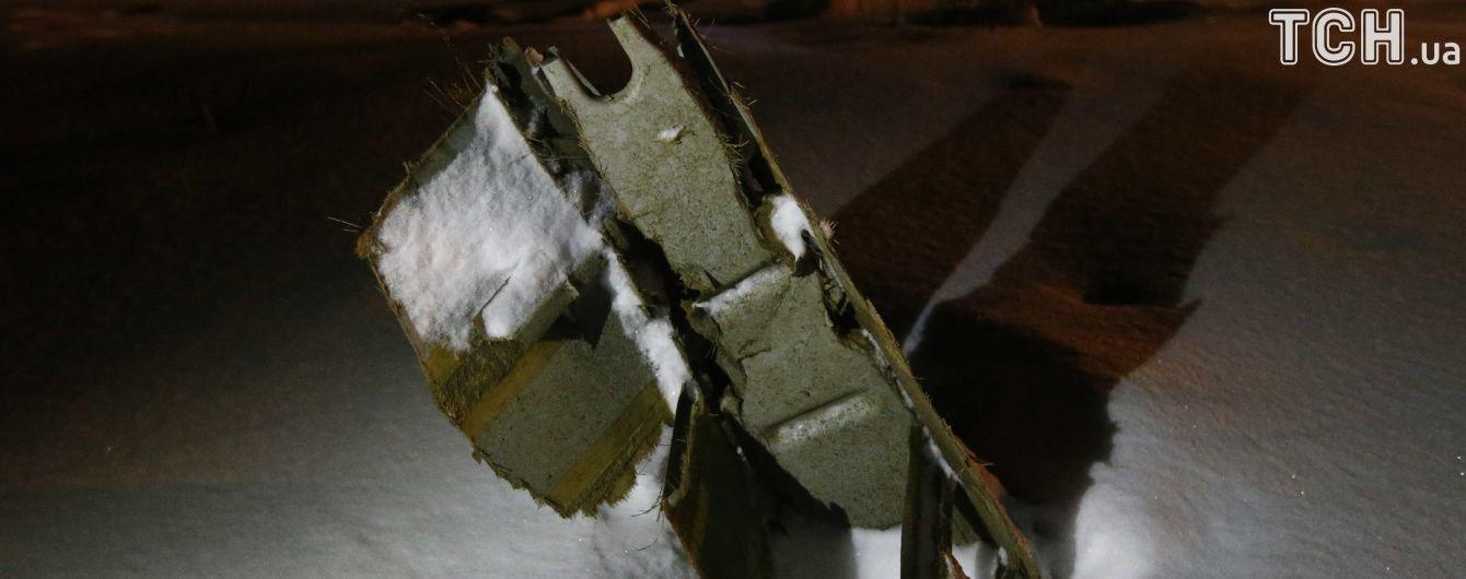 У Мережі з'явилося відео аварії літака Ан-148 під Москвою