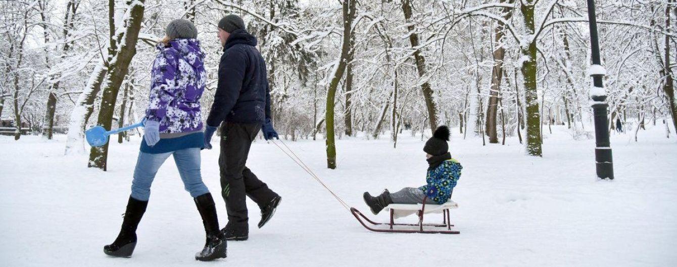 Половину регіонів посипатиме снігом з дощем. Прогноз погоди на 12 лютого