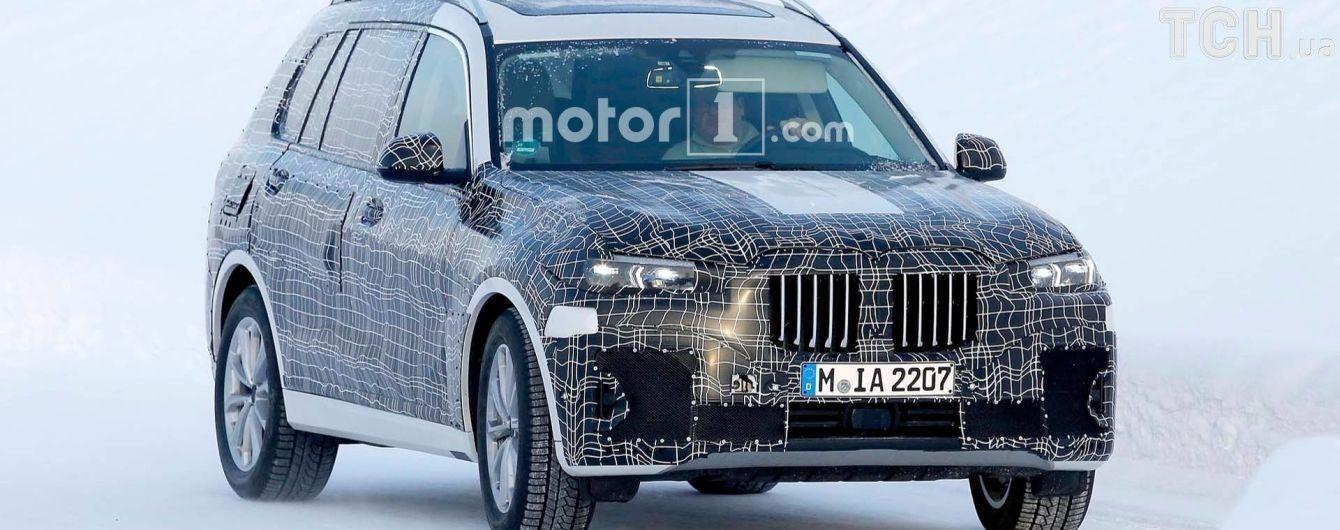BMW запустит на рынок самый крупный внедорожник