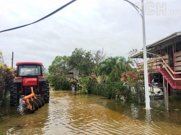 Мощный циклон разрушил половину домов в столице островного государства в Тихом океане