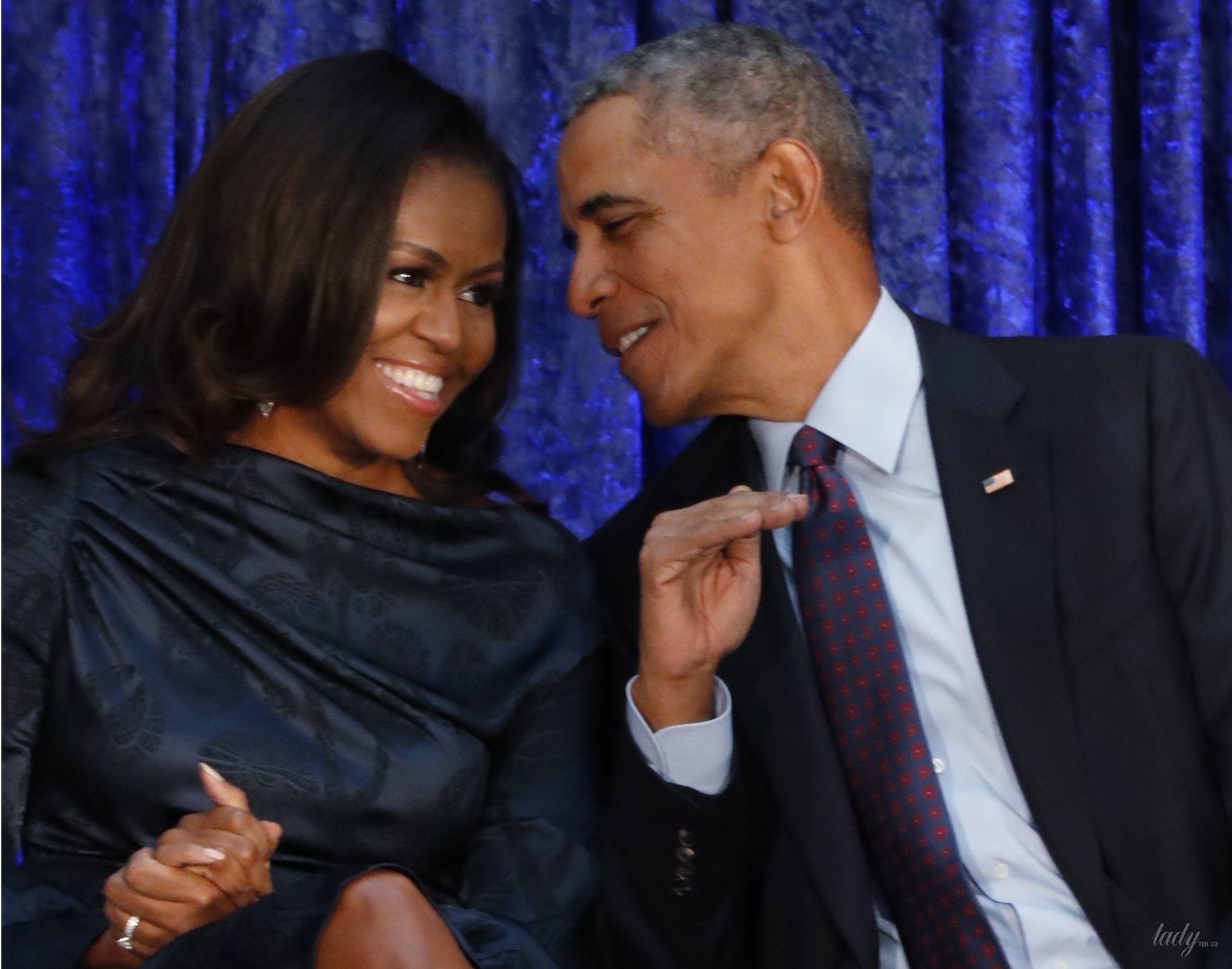 Мишель и Барак Обама_3