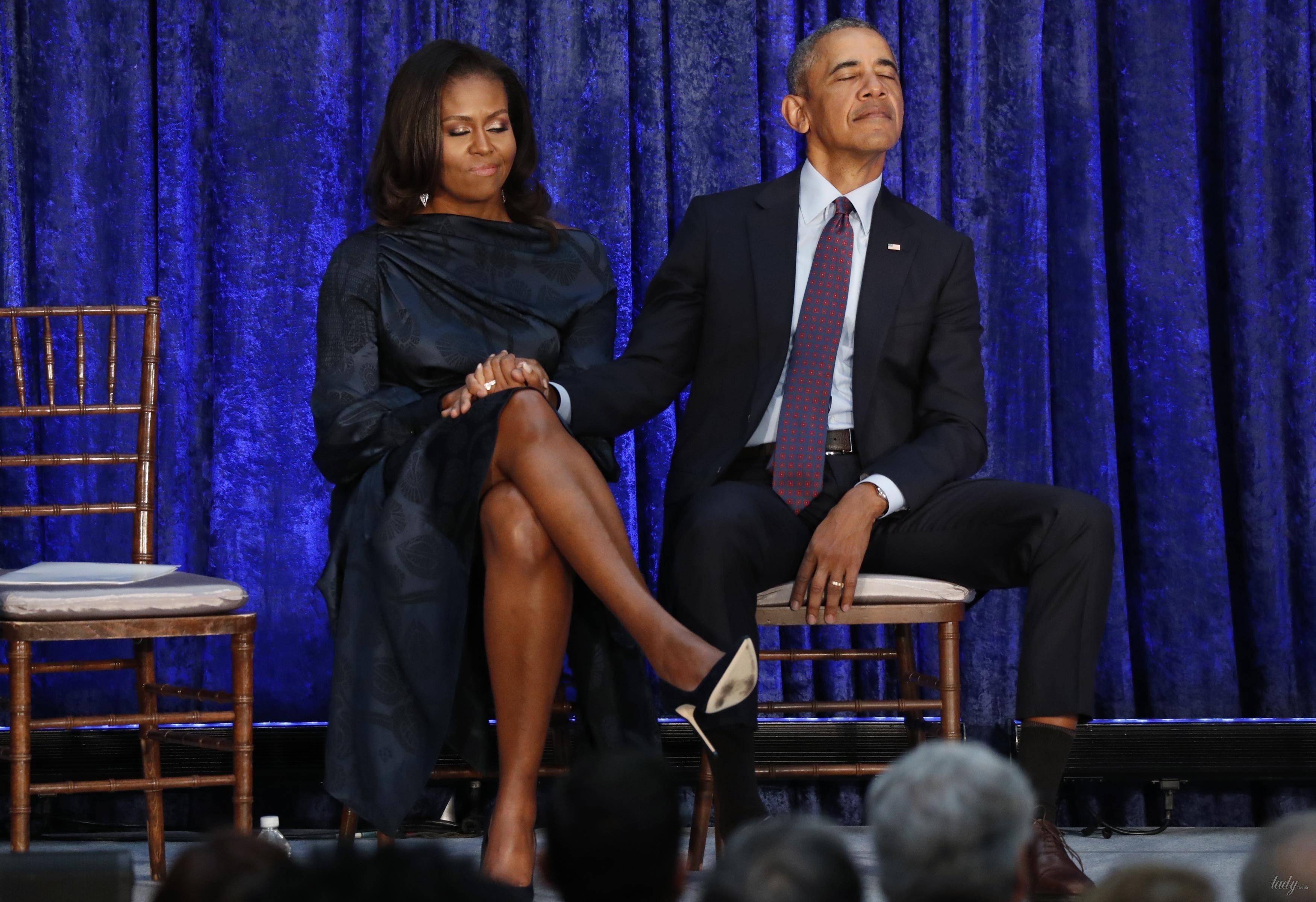 Мишель и Барак Обама_2