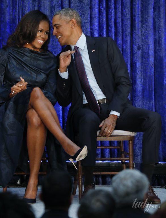 Мишель и Барак Обама_7