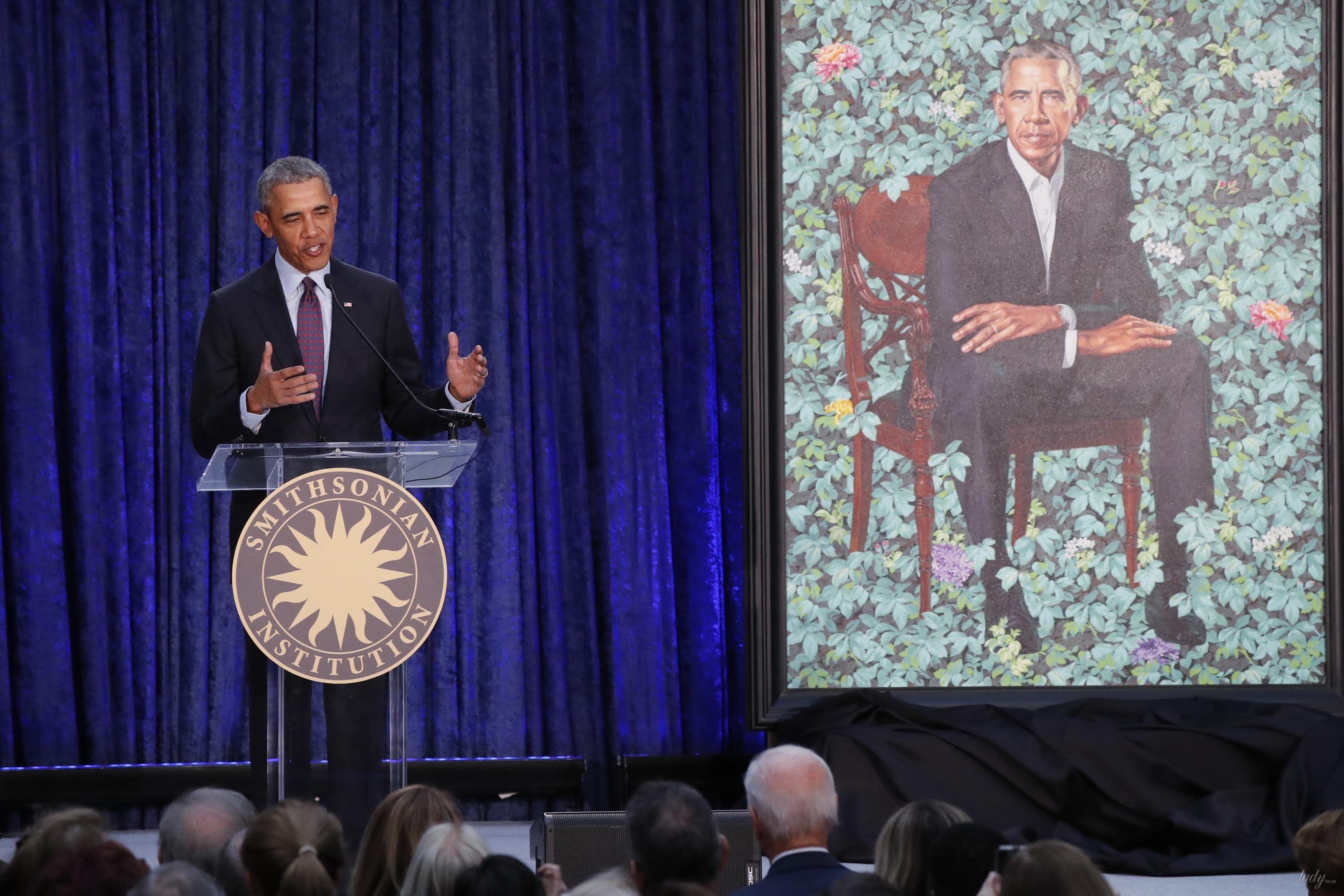 Мишель и Барак Обама_5