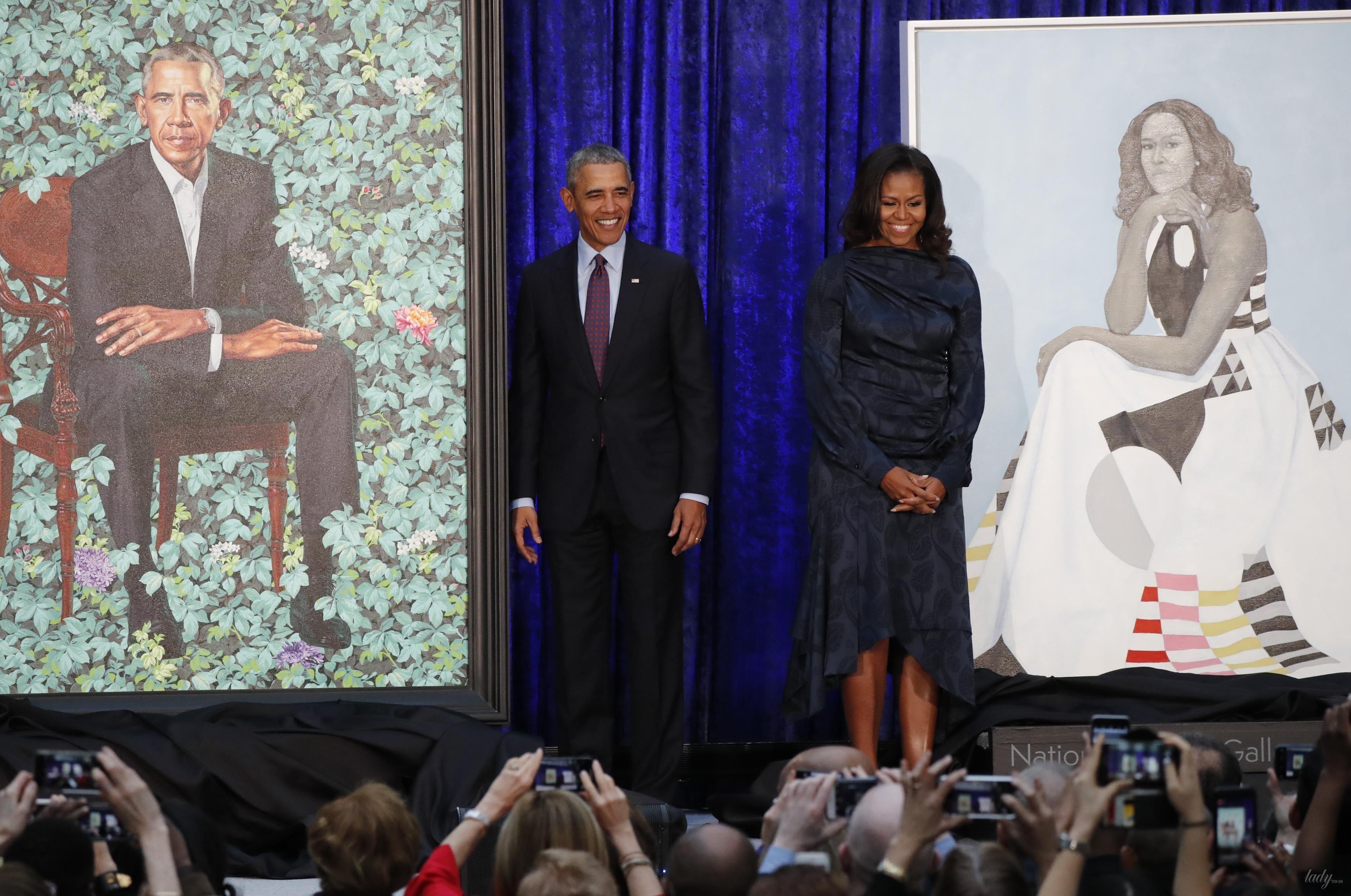Мишель и Барак Обама_6
