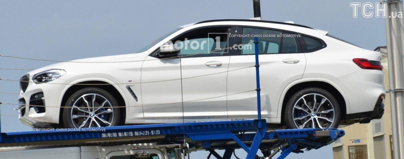 BMW Х4 показался в готовом виде