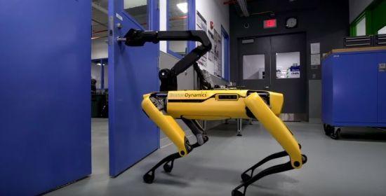 """Мережею шириться відео, де милий робот-пес відчиняє двері своєму """"товаришу"""""""