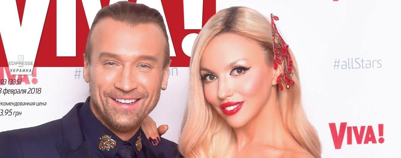Самые красивые: Оля Полякова и Олег Винник на обложке глянца