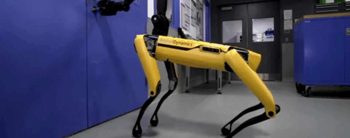 """Мережею шириться відео, де робот Boston Dynamics відчиняє двері своєму """"товаришу"""""""