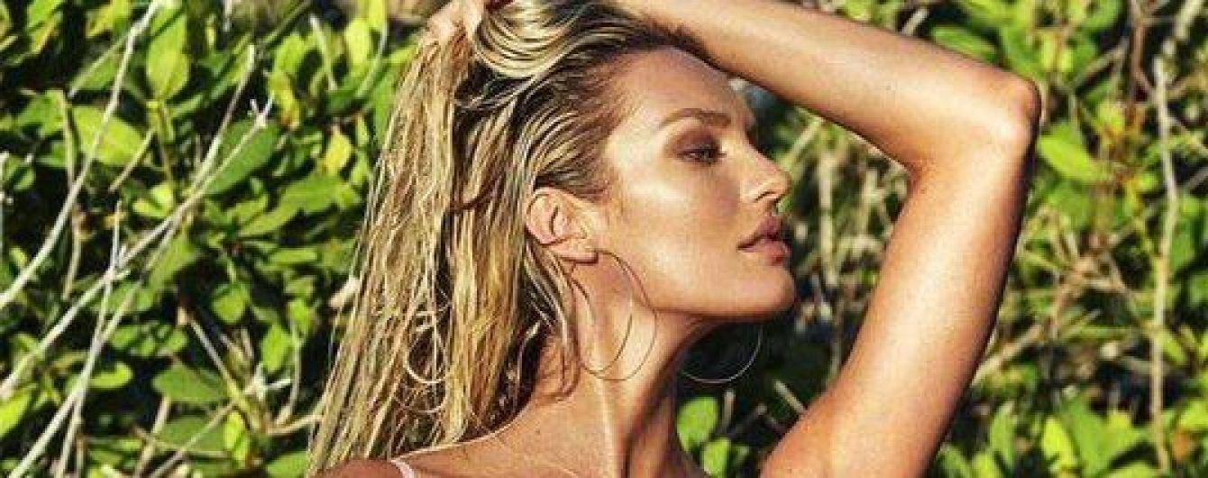 Секси-мамочка: Кэндис Свэйнпоул рекламирует стильные купальники