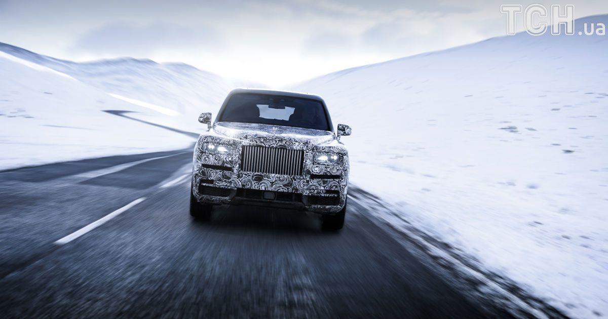 Rolls-Royce анонсирует алмазный внедорожник
