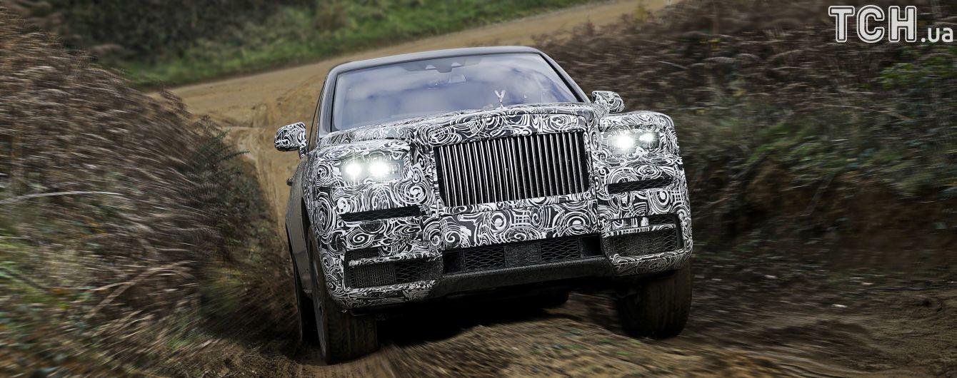 Rolls-Royce публично протестирует свой внедорожник