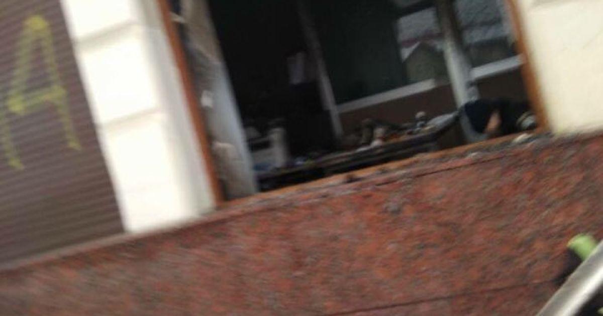 У центрі Львова невідомі влаштували пожежу у відділенні